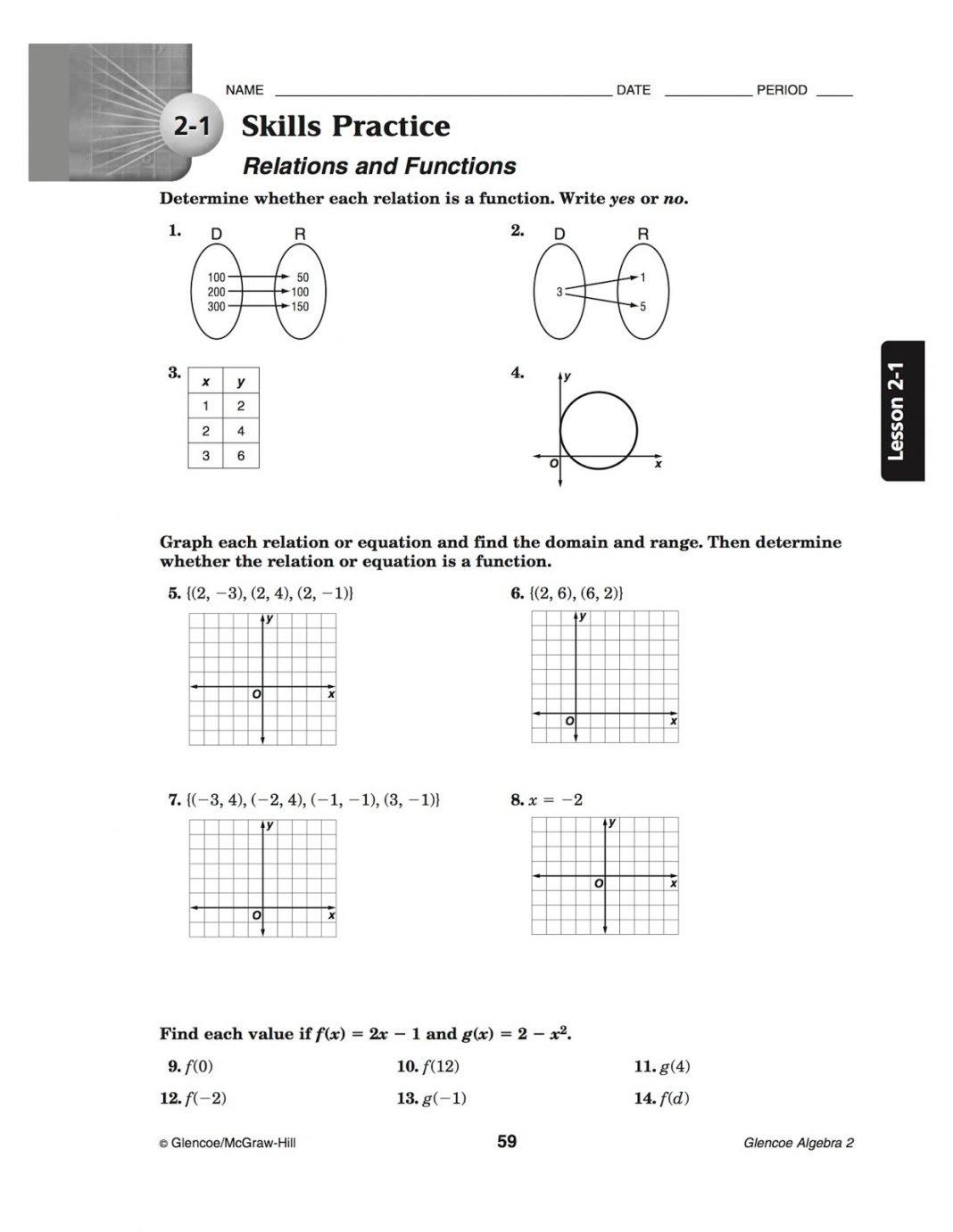 bacs algebra 2
