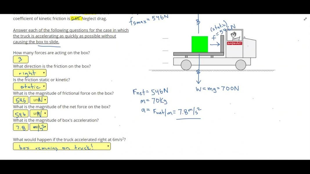 friction complete problems 2 positive physics youtube