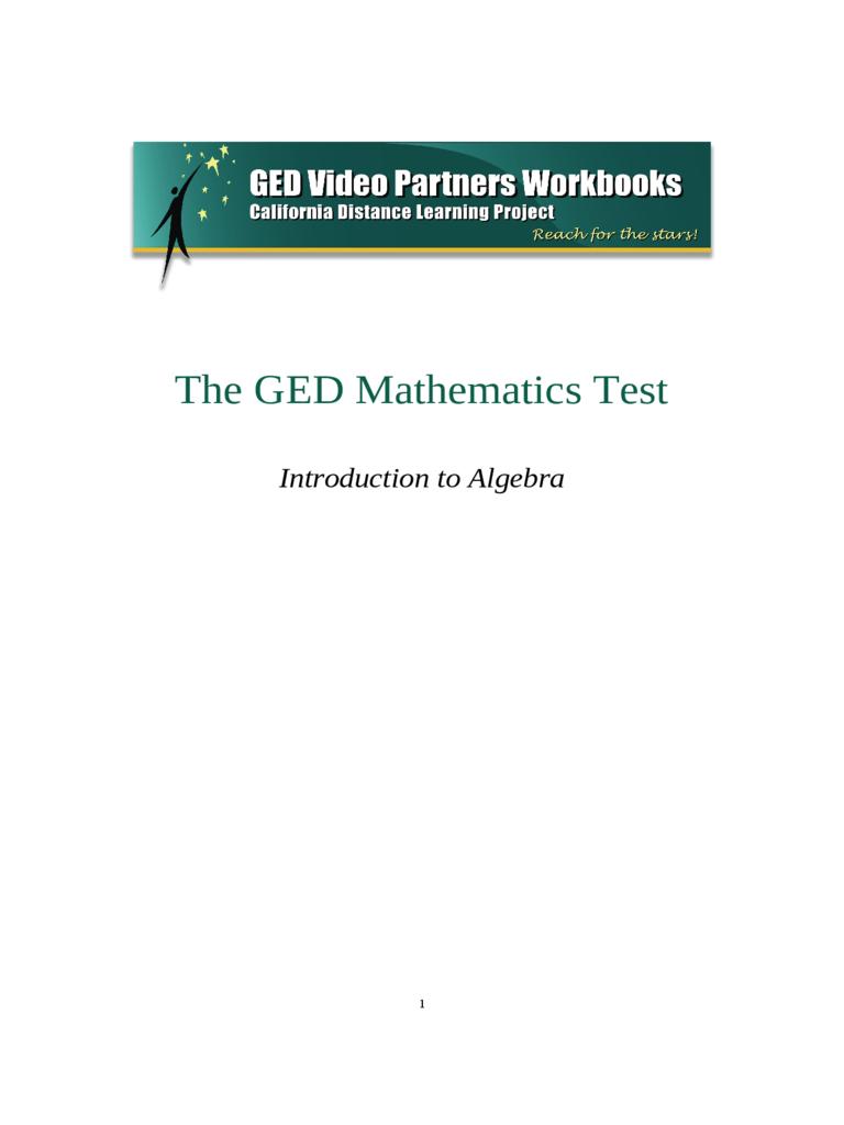 GED Sample Test