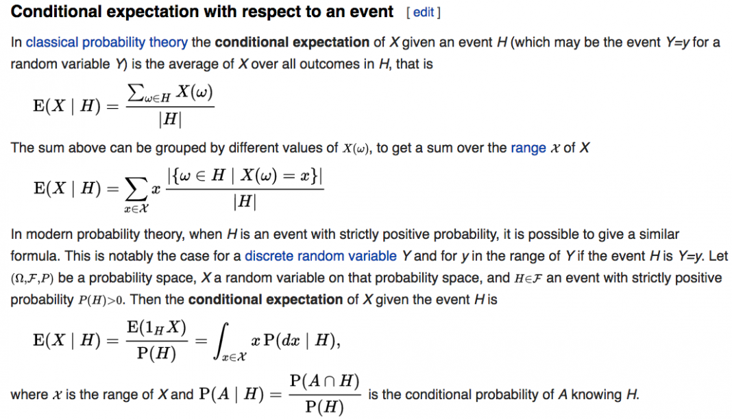notation what does pdxh stand for in probability