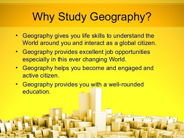 Ppt 1 what is geography