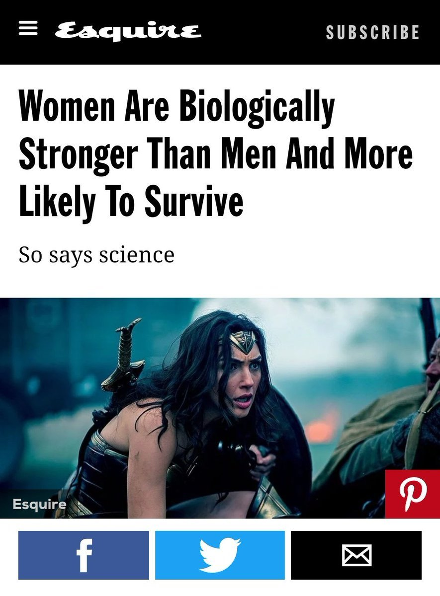 """The Safest Space on Twitter: """"Women are biologically ..."""