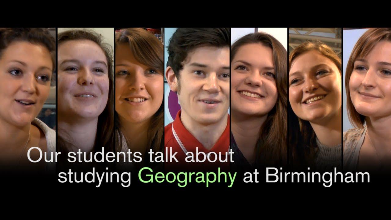 Why study Geography at Birmingham?